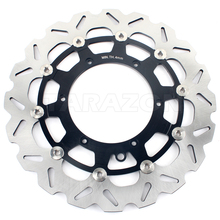 Oversize 320mm stainless steel motorcycle front brake disc for ktm