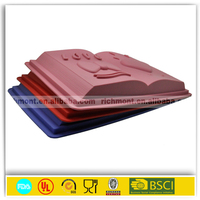 colorful letter shaped professional silicone bakeware