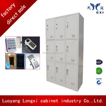2014 best selling waterproof and fireproof student locker/Education Lockers/cabinet with eletronic induction or common lock