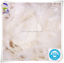 plume crafts wholesale bulk bleached white goose nagoire loose feather for sale