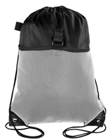 2015 New Promotional Nylon Mesh Drawstring Outdoor Backpack Bag