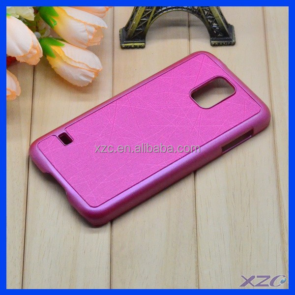 wholesale Leather Mobile Phone case for Samsung S5 Custom Back Cover Case