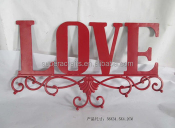 2015 New Design New Product Letter LOVE Wall Hanging Decoration
