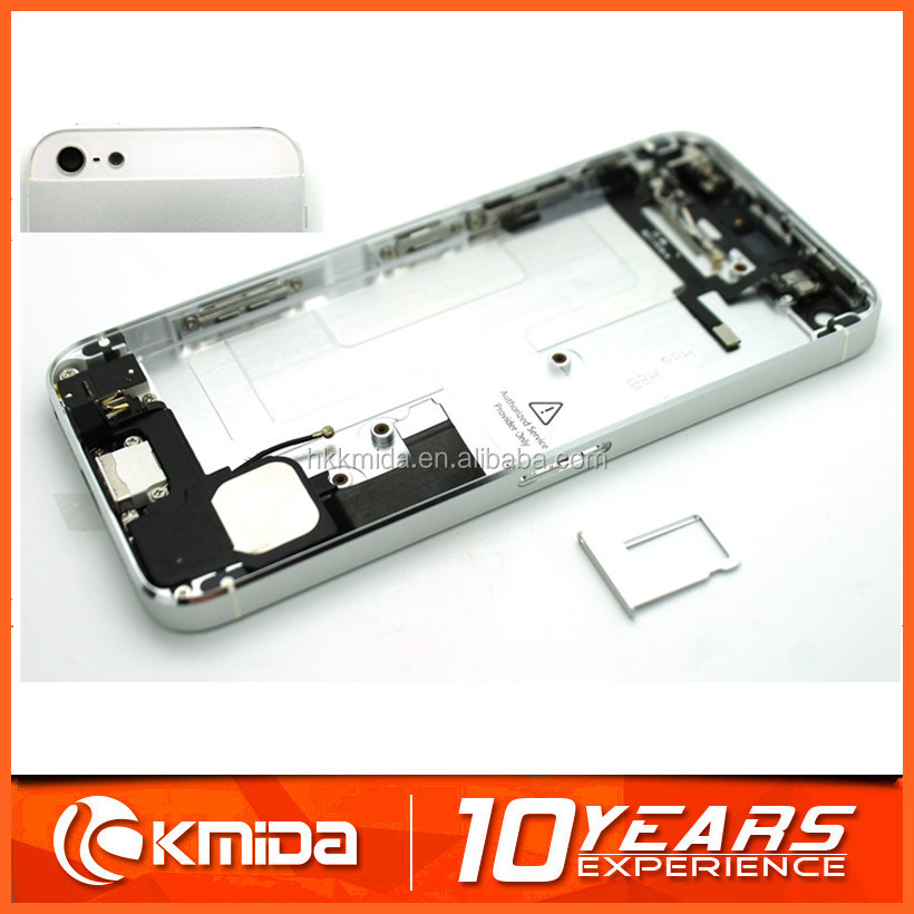 For iphone 5 back housing, for iphone 5 back cover housing replacement made in china