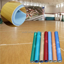 low cost durable pvc sport basketball flooring for indoor
