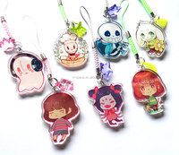 Anime Acrylic Keychain Two Sided Custom Keychain, Plastic Keychain Custom Made