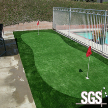 Eco-friendly outdoor use 8mm golf field artificial lawn synthetic grass putting greens