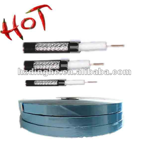 Zhejiang Coaxial Cable Blue Colored Heat Shrink Tube Sleeving