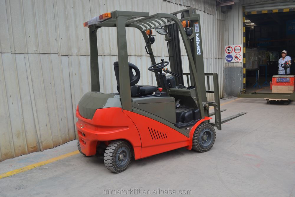 MIMA 2015 new design, electric FORKLIFT, semi-electric stacker price