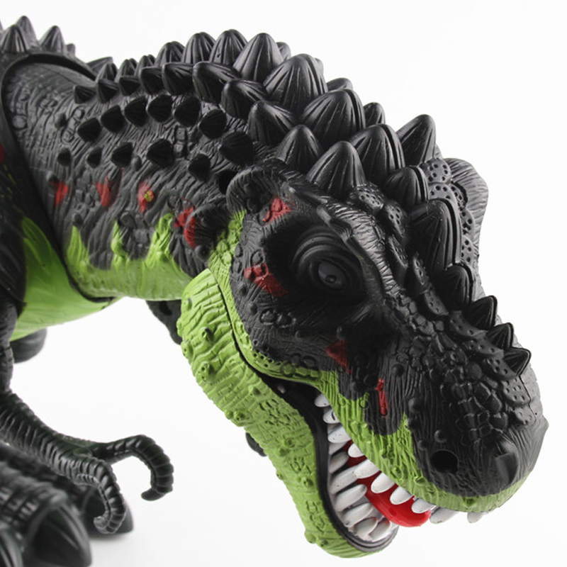 Wholesale Children Game Electric Walking Large Giant Big Plastic Dinosaurs Model Robot Toys Set Dinosaur for Kids