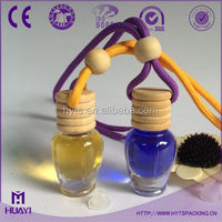 mini round shape hanging car perfume bottles