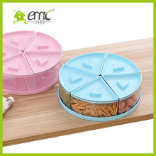 emc food storage conatiner, plastic food storage container with dividers