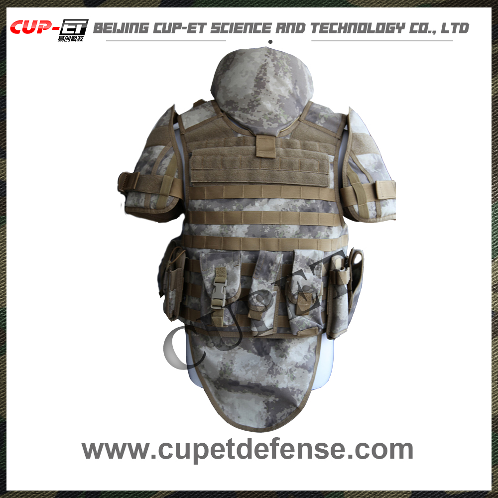 CUPET-948-1desert camo lightweight customized used full body armor custom bulletproof vest