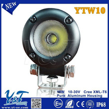 car accessories 750 lumen 10w led flood light motorbike lights china made atv parts