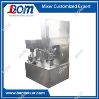 Small batch viscous material mixing equipment