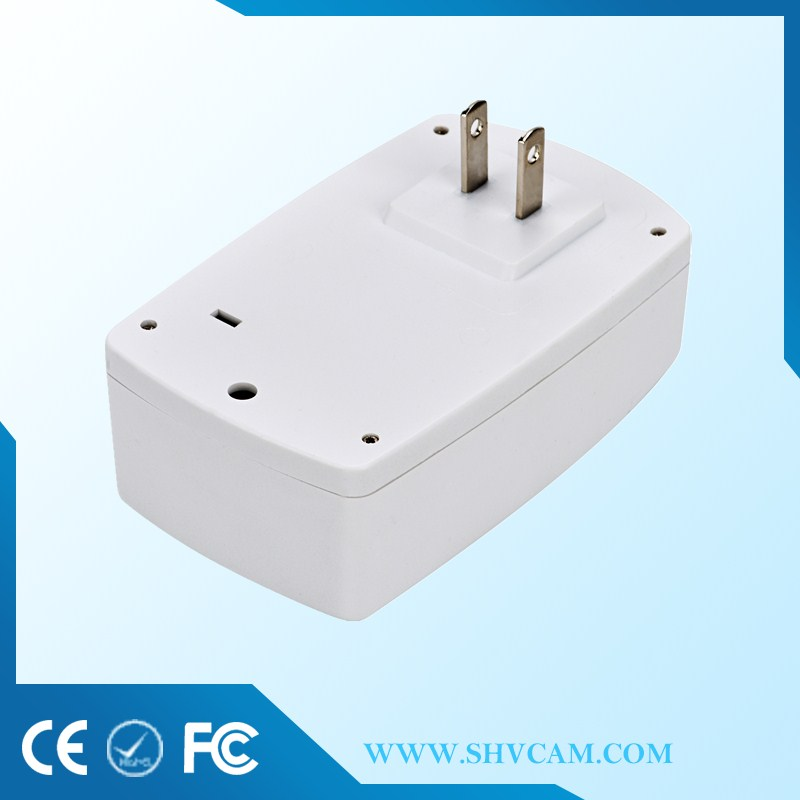 Electrical switch power socket plug with up to 5 transmitters in each learning channel