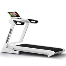 Light commericial treadmill with double layer comfortable running belt and suspension