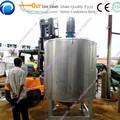 Stainless Steel Chemical Mixer Machine for Cosmetic/liquid hand soap