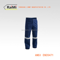 High visibility trousers reflective safety pants hi vis pants