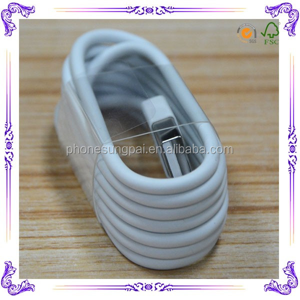 Hot!!For apple iphone data cable wholesale for iphone 5 charging cable ios8