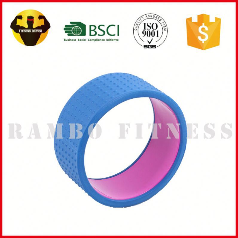 RAMBO Good Manual Work High Quality Density Soft Yoga Wheel For Sale