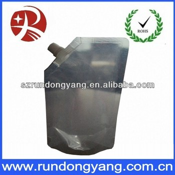 High Quality Stand Up Spout Pouch Bags With Bottom Gusset