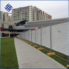 30 Years'factory supply canada wire mesh temporary fence