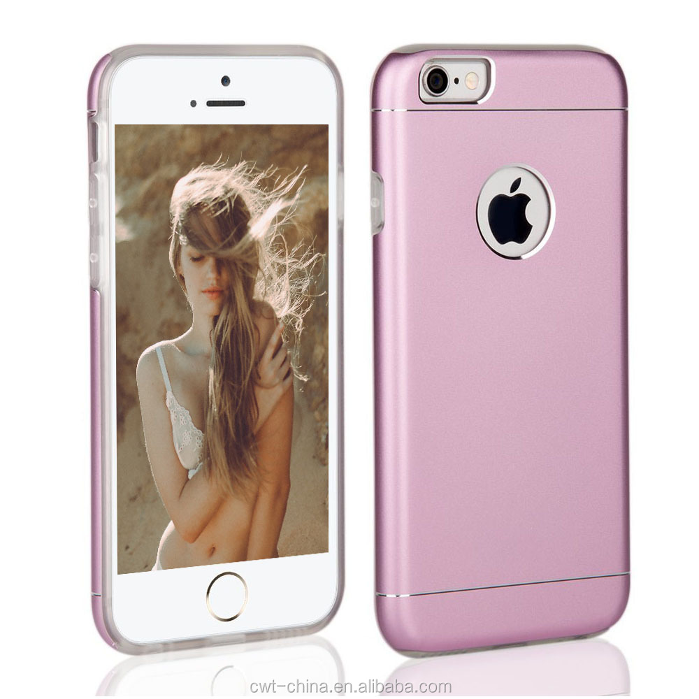 2 in1Newest Slim Aluminum Hybrid mobile cases and covers for iPhone 6s 4.7/5.5 inch
