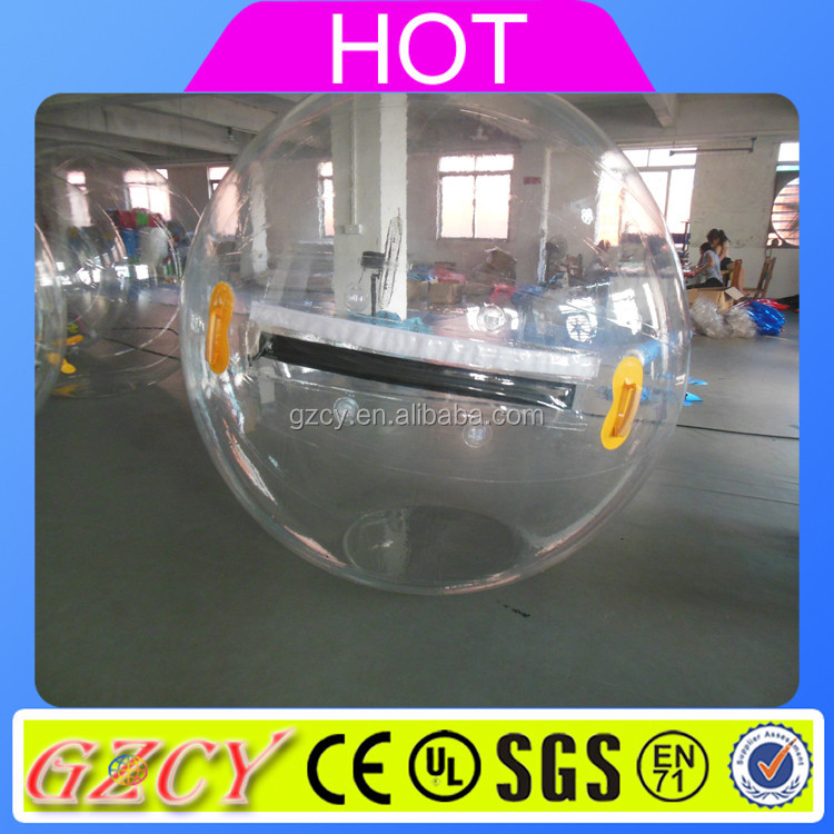Inflatable water game floating ball/clear plastic /water walking ball