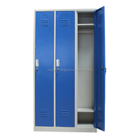 K/D Structure Metal chest office changing room steel cloth locker