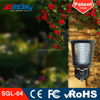 Decorative Waterproof Solar Led Outside Wall Lights Ip65