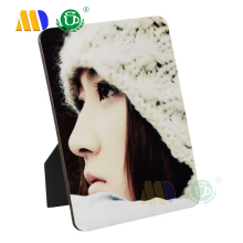 China Suplier DIY Sublimation Blank MDF wooden photo frame