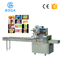 Factory Price Automatic Rice Cracker Wafer Biscuit Wrapping Machine
