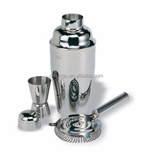 250ml 350ml Stainless Steel Cocktail Shaker with Sticks