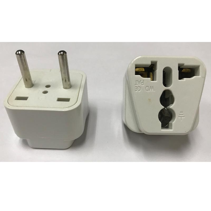 UA9A high quality 250V 10A 16A 4.0mm 2round pin Middle East plug universal travel adapter