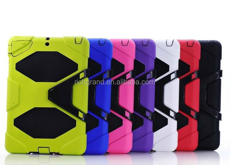Protective shock resistant heavy duty survival case cover for ipad 5