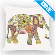 Wholesale Creative Cartoon Animal Elephant Pattern Pillow Cover For Home