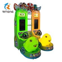 Colour light seat 3D simulator driving game machine