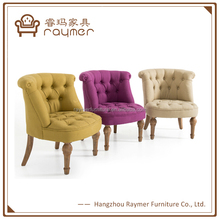 Raymer Furniture Button Tufted Accent Upholstered Bouji Tub Chairs
