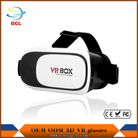 introduction of 3d vr glasses virtual reality programs in shenzhen OEM ODM