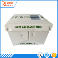 factory price big plastic inverter battery box