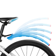 Bicycle accessories front and rear tyre plastic mudguard/fender for mountain bike cycle