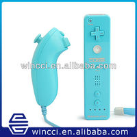 New 2in1 motion remote controller for wii remote ice blue