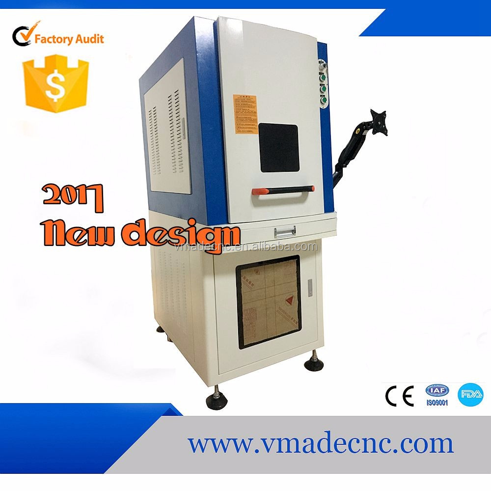 2017 30 watt 3d fiber laser marking machine with alibaba show sale