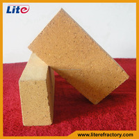 Pizza oven/coke oven/ladle kiln used fire clay bricks in refractory china factory price