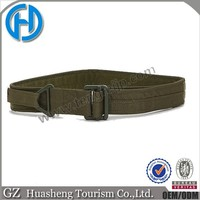 two layer velcro webbing waist belt tactical military belts