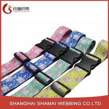 Colorful luggage fastener buckle adjustable luggage packing strap