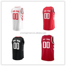 Basketball uniform best lastest custom sublimation blank reversible dry fit basketball jersey design 2017 cheap