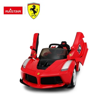 Rastar new version toys LaFerrari FXXK children ride on rc car toy for kids