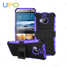 [UPO] Stylish Hybrid Combo Armor Protective Tough Rugged Hard PC Phone Cover Case for HTC One M9 Plus